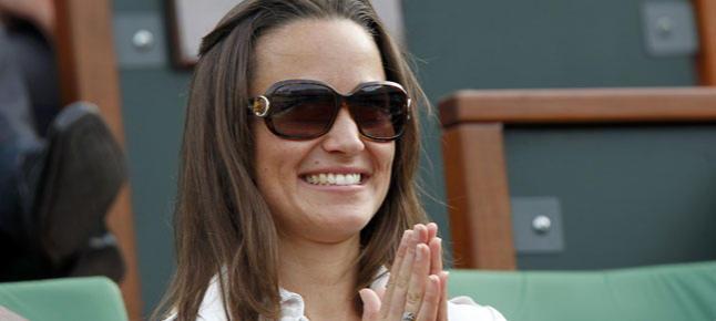 Pippa Middleton, en las gradas de Roland Garros.